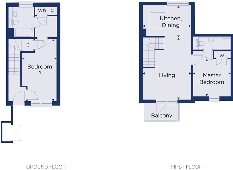 Floorplan for plot 3.03