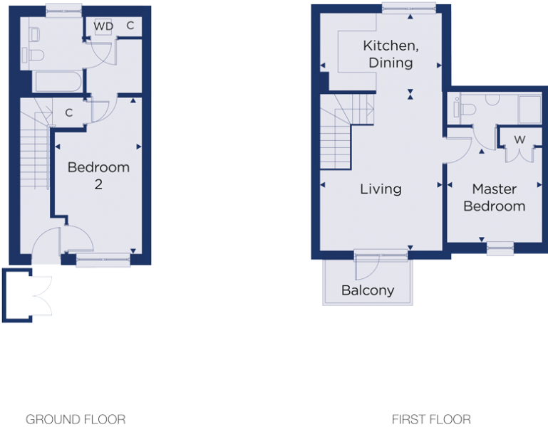Floorplan for plot 3.05