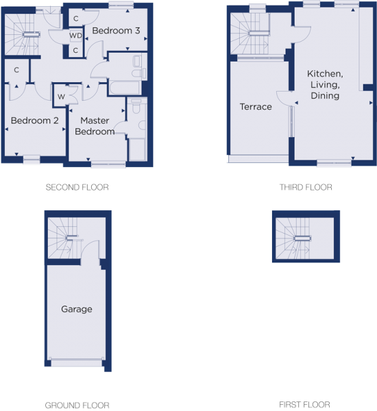 Floorplan for plot 3.14