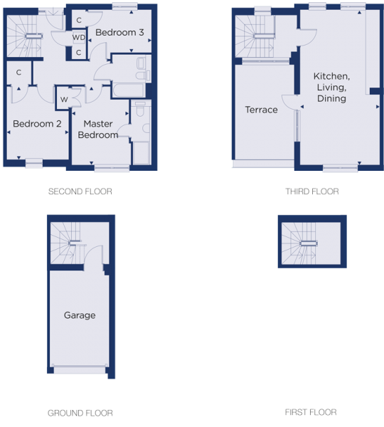 Floorplan for plot 3.18
