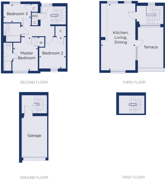 Floorplan for plot 3.19
